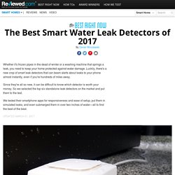 Avoid leaks and floods with the 6 best smart leak detectors