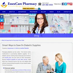 Smart Ways to Save On Diabetic Supplies
