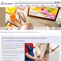 6 Smart Ways You Can Prevent Fall Hazards at Home