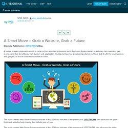 A Smart Move – Grab a Website, Grab a Future: blog_specindia
