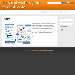 The Smart Worker's Guide to Social Media