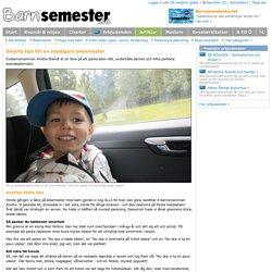 Smarta tips för en smidigare bilsemester