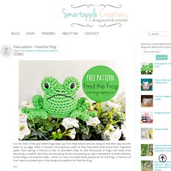 Smartapple Creations - amigurumi and crochet: Free pattern - Fred the Frog