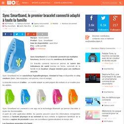 Sync Smartband, le premier bracelet connecté adapté à toute la famille