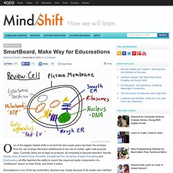 SmartBoard, Make Way for Educreations