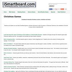 Christmas - Smartboard Games, Activities, Lessons - iSmartboard.com