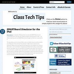 SMARTBoard Simulator for the iPad