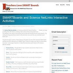 SMARTBoards and Science NetLinks Interactive Activities