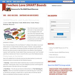 SMARTBoards and Audio Resources