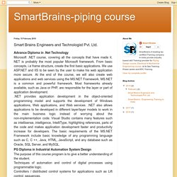 SmartBrains-piping course: Smart Brains Engineers and Technologist Pvt. Ltd.