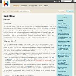 smarter svg filters · svg
