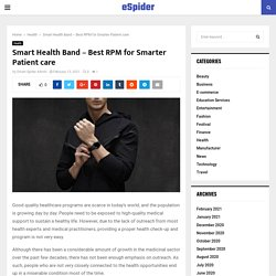 #site_titleSmart Health Band - Best RPM for Smarter Patient care