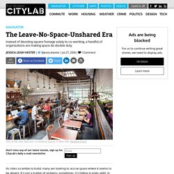 The Smartest New Co-Working Spaces Do Double Duty in Libraries and Restaurants