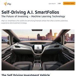 A.I. SmartFolios Investment App - Reitrement & Personal Financial Vehicle