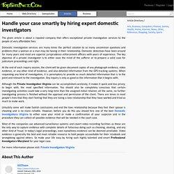 Professional Investigators Maryland