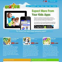 SmarTots - We recommend the Best Educational Apps for your Child