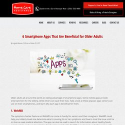 Top 6 Smartphone Apps with Benefits for Seniors