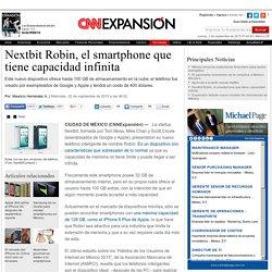 Nextbit Robin, el smartphone que tiene capacidad infinita