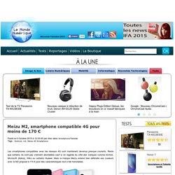 Meizu M2, smartphone compatible 4G pour moins de 170 € Smartphone/Tablette Android m2