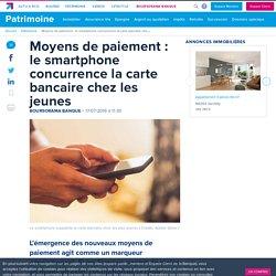 Moyens de paiement : le smartphone concurrence la carte bancaire chez les jeunes