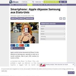 Smartphone : Apple dépasse Samsung aux Etats-Unis