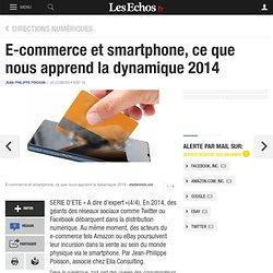 E-commerce et smartphone, ce que nous apprend la dynamique 2014, Directions numériques