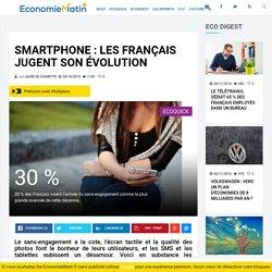 Smartphone : les Français jugent son évolution
