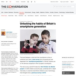 Unlocking the habits of Britain's smartphone generation