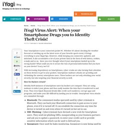 iYogi Virus Alert: When your Smartphone Drags you to Identity Theft Crisis!