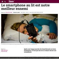 Le smartphone au lit est notre meilleur ennemi
