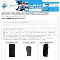 Housse Samsung, etui pour mobiles Samsung