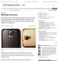 Smartphone: Mächtige Sensoren