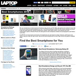 Best Smartphone 2014 - Top-Rated Cell Phones - Laptop Mag