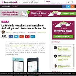 Le Robin de Nextbit est un smartphone Android qui veut révolutionner le marché