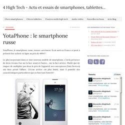 4 High Tech - Actu et essais de smartphones, tablettes...