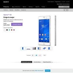 Sony Xperia™ Z3; smartphone de máxima calidad - Sony Smartphones (España)