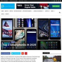 Top 3 Smartphones in 2020 - AryanPages