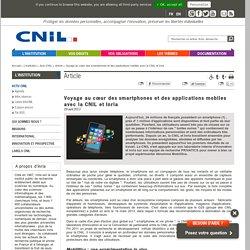 Voyage au cœur des smartphones et des applications mobiles avec la CNIL et Inria