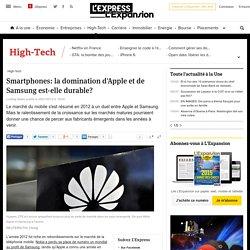 Smartphones: la domination d'Apple et de Samsung est-elle durable?
