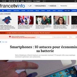 Smartphones : 10 astuces pour économiser sa batterie