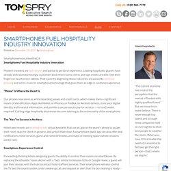Smartphones Fuel Hospitality Industry Innovation
