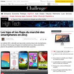 Samsung, Apple, LG, Huawei... Les tops et les flops du marché des smartphones en 2013