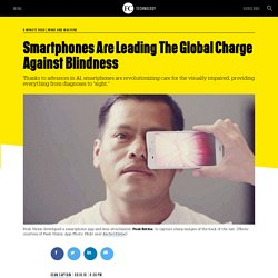 Smartphones Are Leading The Global Charge Against Blindness