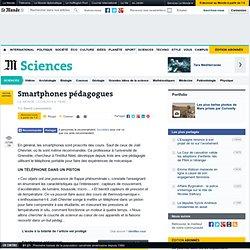 Smartphones pédagogues