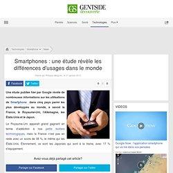 Smartphones : une étude révèle les différences d'usages dans le monde