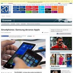 Smartphones: Samsung devance Apple