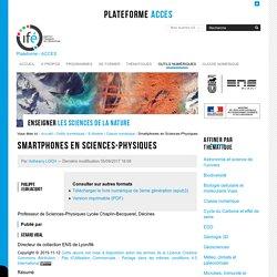 Smartphones en Sciences-Physiques