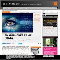 Smartphones et vie privée