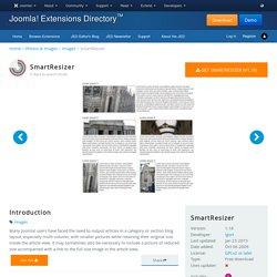SmartResizer - Joomla! Extension Directory