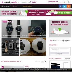 SmartWatch : toute l'actualité sur SmartWatch
